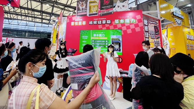 全球易供首次亮相2021ChinaJoy,现场实力圈粉养宠玩家
